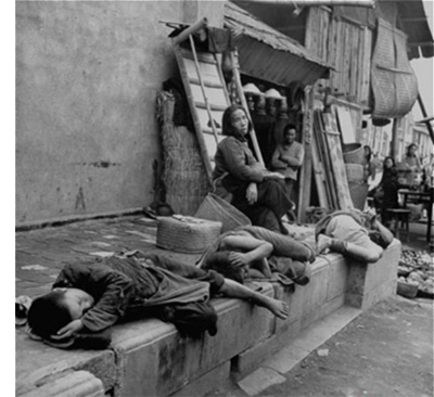 大饥荒中的中国农民